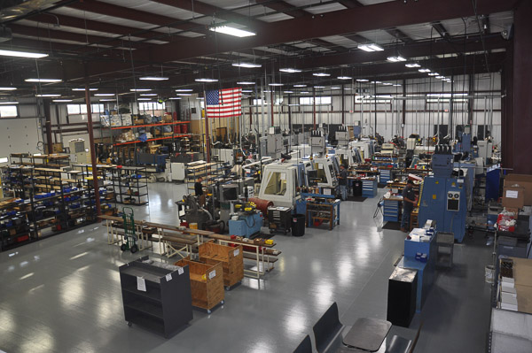 CNC Department at Integrity Saw and Tool