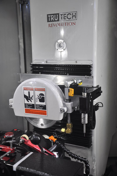 Tru Tech CNC machine for custom tools